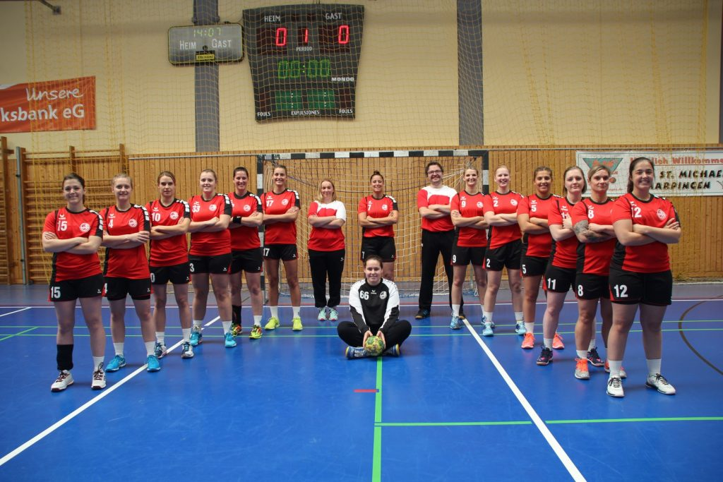 Mannschaftsfoto HSG Moskitos Frauen 2