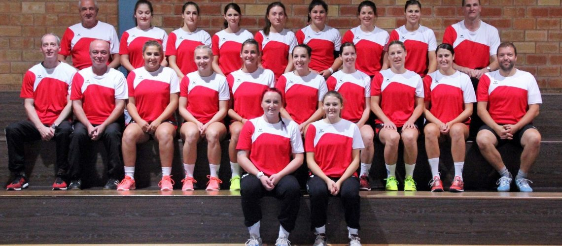 Mannschaftsfoto HSG Moskitos Frauen 1